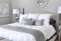 Silver bedroom ideas