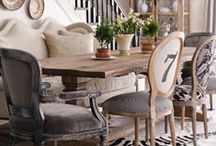 dining spaces / by Sheila Clark
