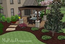 Patio planning / Ideas for our future patio / by Laurie Pfister