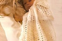 Baby cape & Afghan