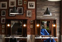 Интерьер парикмахерской