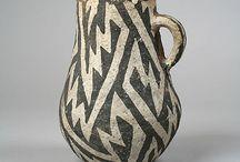 bianco nero ceramica