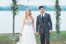 Wedding Dress Separates / Create your own wedding dress with separate bodice and skirt styles that you can mix and match! Separate pieces are sewn together into one seamless gown just for you by designer Martina Liana.