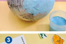 manualidades geografía