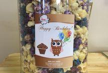 Popcorn pails / Popcorn tins, Ipop gourmet popcorn Tampa