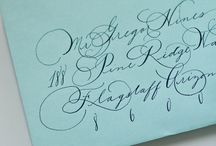 Calligraphy / by Theresa McGuire