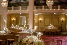 Real Weddings: Jackie and Donovan / A lush ivory and blush DC wedding  at the Willard. Photos by Eli Turner.