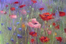 pastelkrijt pastel paintings
