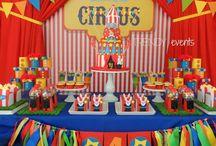 decoración de circo