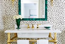 Powder Rooms in Style / A collection of powder rooms