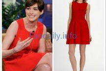 Anne Hathaway Style & Fashion