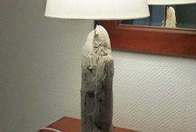 Treibholzlampe