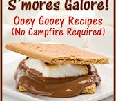 S'mores Galore! / S'mores Galore Ooey Gooey Recipes (No Campfire Required) is my latest book on Kindle. Filled with 30+ S'mores recipes so we can enjoy S'mores even if it's snowing outside! http://amzn.to/Obx5FJ #s'mores