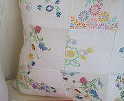Vintage linens, doilies & fabrics - renewed!