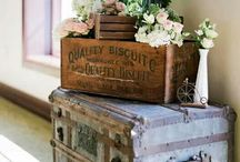 vintage and shabby chic decor