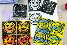 Emoji art project