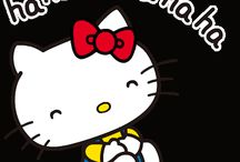 Hello kitty com movimento