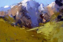 Tony Allain / Selected artwork by a spectacular pastel painter, Tony Allain