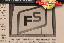 FS: 60 Years Strong / All 60 of our #ThrowbackThursday posts celebrating the 60th anniversary of FS. We'll add a new one each Thursday.
