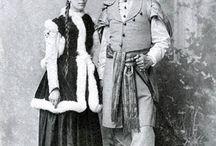 XIX żupan i kontusz / XIX costume polonaise/Polish costumes