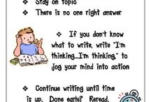 Enseignement - écriture Quick write