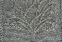 вязание дерево