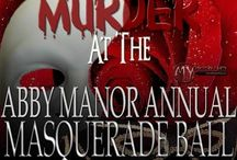 Murder at the Abby Manor Masquerade Ball- Murder Mystery Party / A Masquerade Ball murder mystery party game for 8-18+ guests, ages 14 and up due to difficulty. There are two expandable characters to expand to as many optional characters as you need!