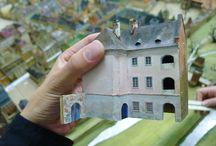 EXHIBITION IN THE CENTENNIAL HALL_WROCLAW_POLAND / Panorama plastyczna dawnego Lwowa_ Hala Stulecia_ Wroclaw