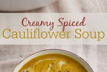 Healthy soups!  / Yummy