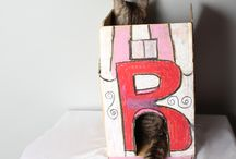handmade cat house / handmade cat house by me
