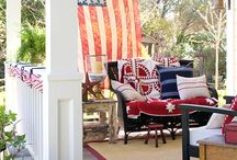 Red, White, & Blue / by Leigh Giddings