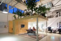Factory to office conversion / Ideas, colours and details for project at Y