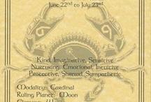 Zodiak - Cancer - July 7th / Cancer - Zodiak / by Don Richardson