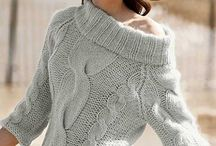knitting women cardigan