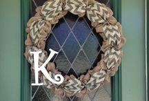 Wreath Ideas / by Haley Lance