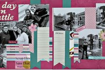 scrapbooking / by Heather Lewis