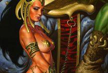 Dejah Thoris / Princess of Mars / by Jerry Smeding