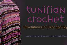 Tunisian crochet (hakking) / Hakking, Tunising crochet, lace,  / by Lisa-Marie