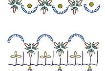 Embroidery - Stitches - Crazy Patchwork