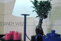 Nos lampadaires indoor/outdoor