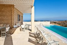Villa Elea #Paros #Greece #Island /  Villa Elea is located on the island of Paros , near the tourist village of Naoussa known . The village of Naoussa is located at a distance of 2.8 km and the most beautiful beaches on the island are a short drive from the villa . http://www.mygreek-villa.com/fr/rent-villa-search-2/villa-elea-ile-de-paros-gr%C3%A8ce