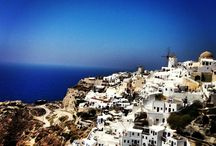 Santorini / Santorini, classically Thera, and officially Thira; is an island in the southern Aegean Sea, about 200 km southeast of Greece's mainland.