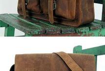 leather bags handmade vintage