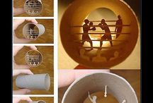 diy art toilet paper rolls