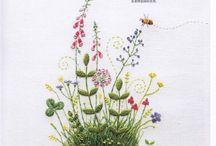 Kazuko Aoki / Japanese  style embroidery that I like