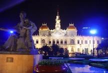 Ho Chi Minh City / Ho Chi Minh City (antiguamente la ciudad de Saigón), la capital del sur de Vietnam.