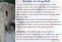 Dry stone wall / The oldest construction materials know to the mankind if stone house. Many stones houses are built by the humans for several years ago and in all the region of the world. the creative and innovate of the thinking of humans made to build the stone walls and stone houses.