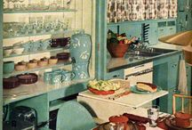 Kitchens of the 50's-80's / Kitchens of past generations. What was considered modern and traditional 40 years ago may be a little out dated now (just a little). If you have a kitchen like one of these spaces it may be time to consider a remodel.