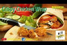 chicken roll, Ta doori,cashew chicken