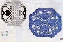 Piezas Hexagonales a Crochet